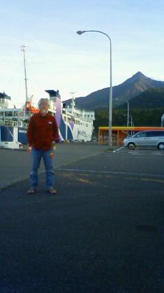 利尻島をでます。