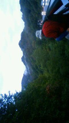 山形、月山の夜明け