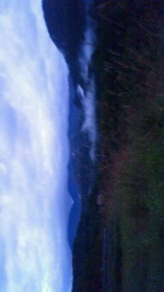 月山湖です。