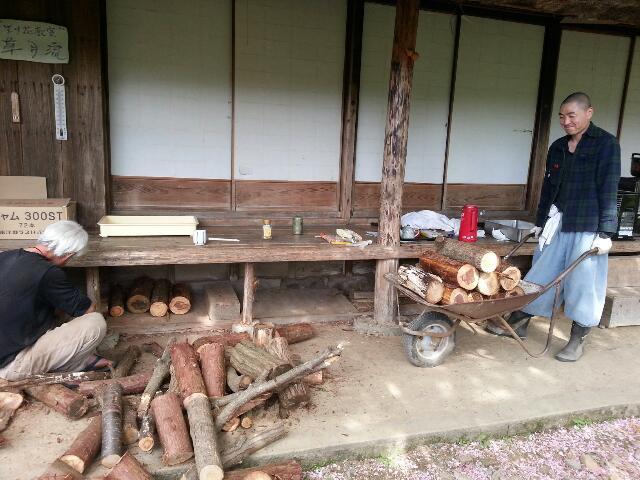 千葉県から修行僧