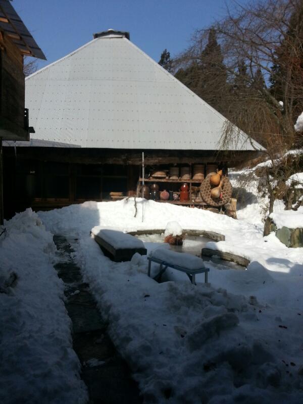 雪おろし〜