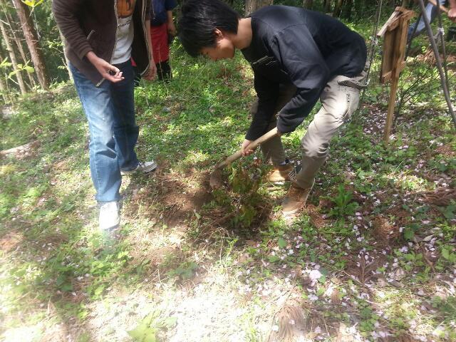 4月27日記念植樹